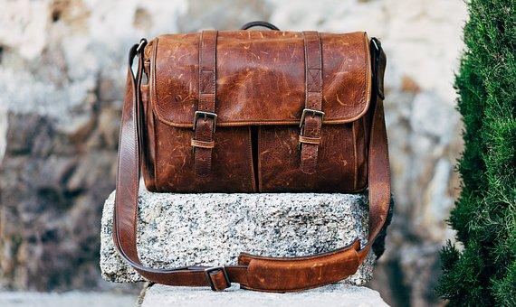 Rock Vintage Messenger Bag Classic Bag Leather