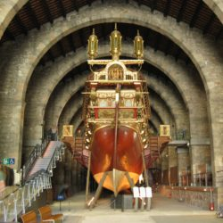 Barcelona Maritime Museum Ship Interior