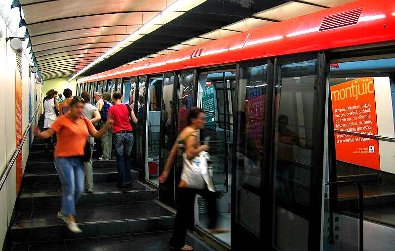 Barcelona Metro Parc de Montjuic