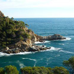 Prachtige kust van Costa Brava Spanje