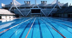 Swimming in Barcelona