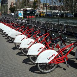 Bicing Rental Ports around Barcelona