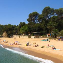 Kust van Costa Brava Spanje