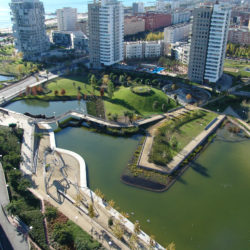 Diagonal Mar in Sant Martín, Barcelona