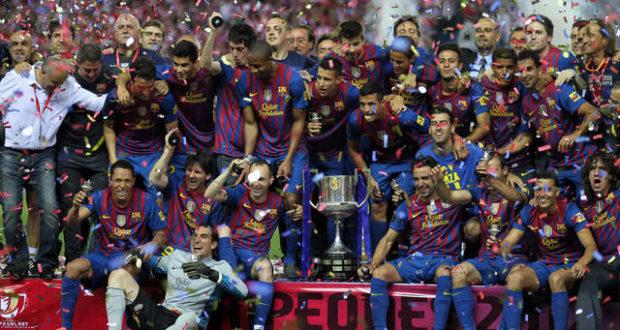 FC Barcelona Kings Cup Final 2012
