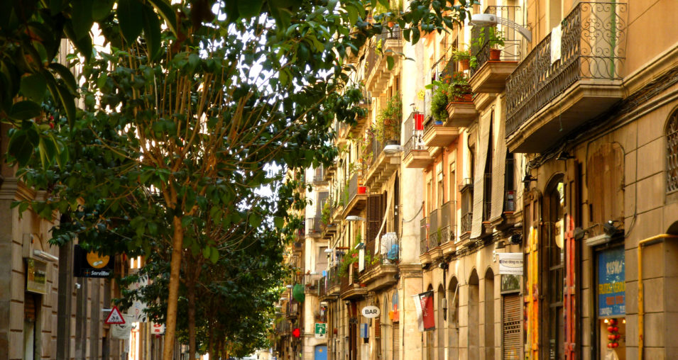 El Raval in Ciutat Vella, Barcelona