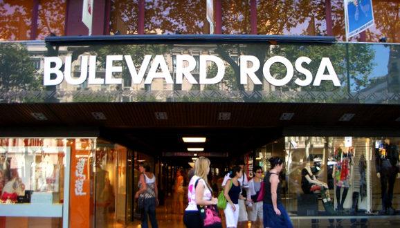 Bulevard Rosa in Barcelona