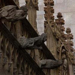 Gargolas en Barcelona Barrio Gotic