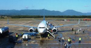 Der Flughafen Girona