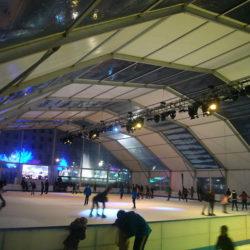 Ice Skating in Barcelona