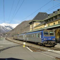 Latour de Carol station Andorra