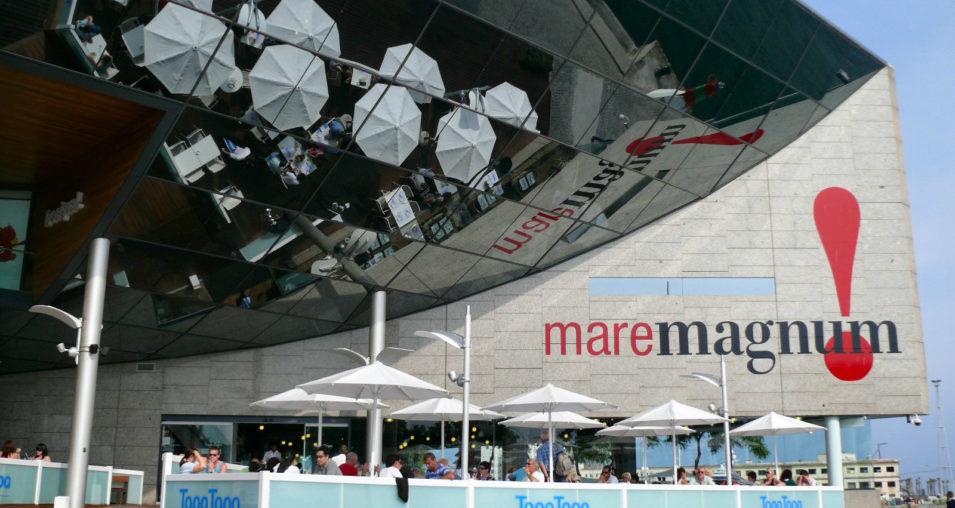 maremagnum barcelona shopping centerr