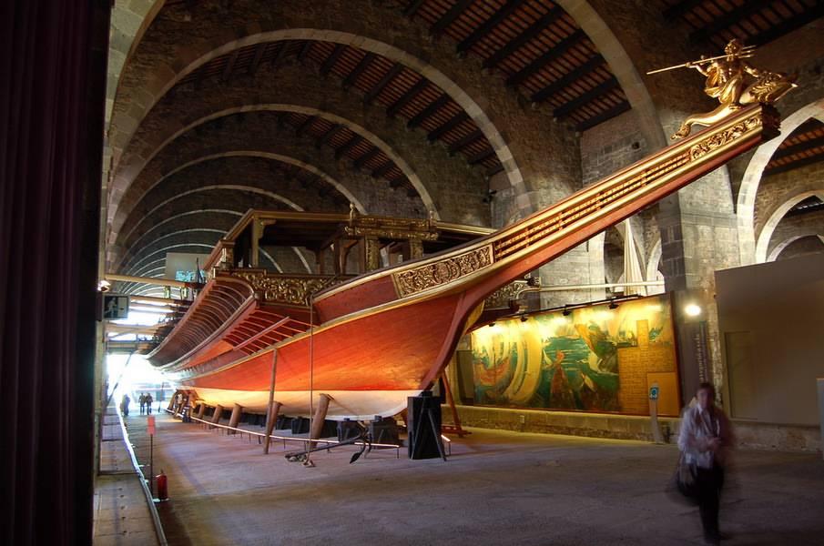 Maritime Museum Barcelona Barcelona Home