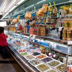 Mercat de Caterina Barcelona Spain