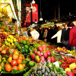 Mercat del Ninot in Barcelona