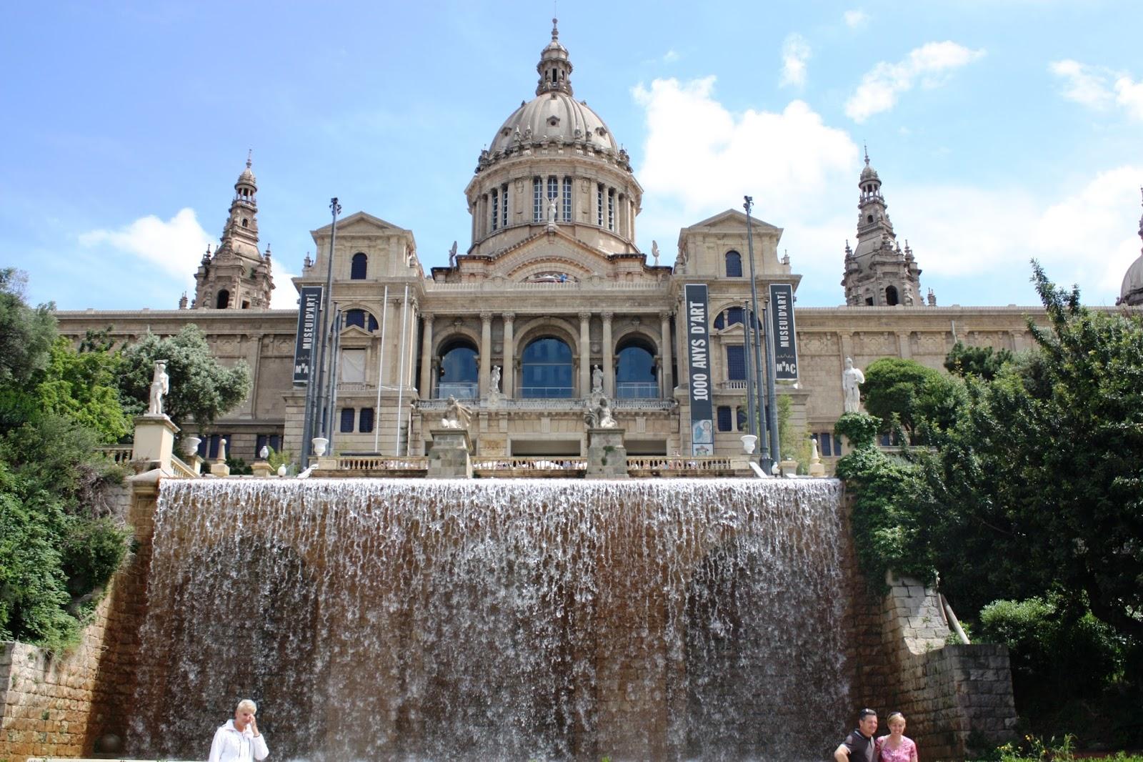 MNAC in Barcelona Spain