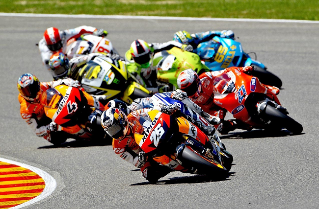 Motorcycle Grand Prix Barcelona
