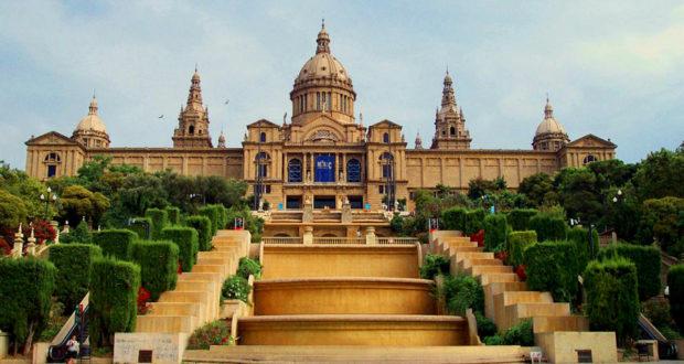 Museu Nacional d'art de Catalunya in Barcelona