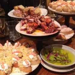Pinchos dinner Barcelona
