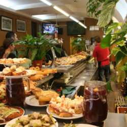 pinchos in Barcelona