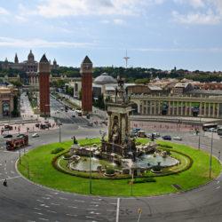 Plaça Espanya Barcelona Spain