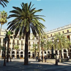 Placa Reial The Gothic Quarter Barcelona