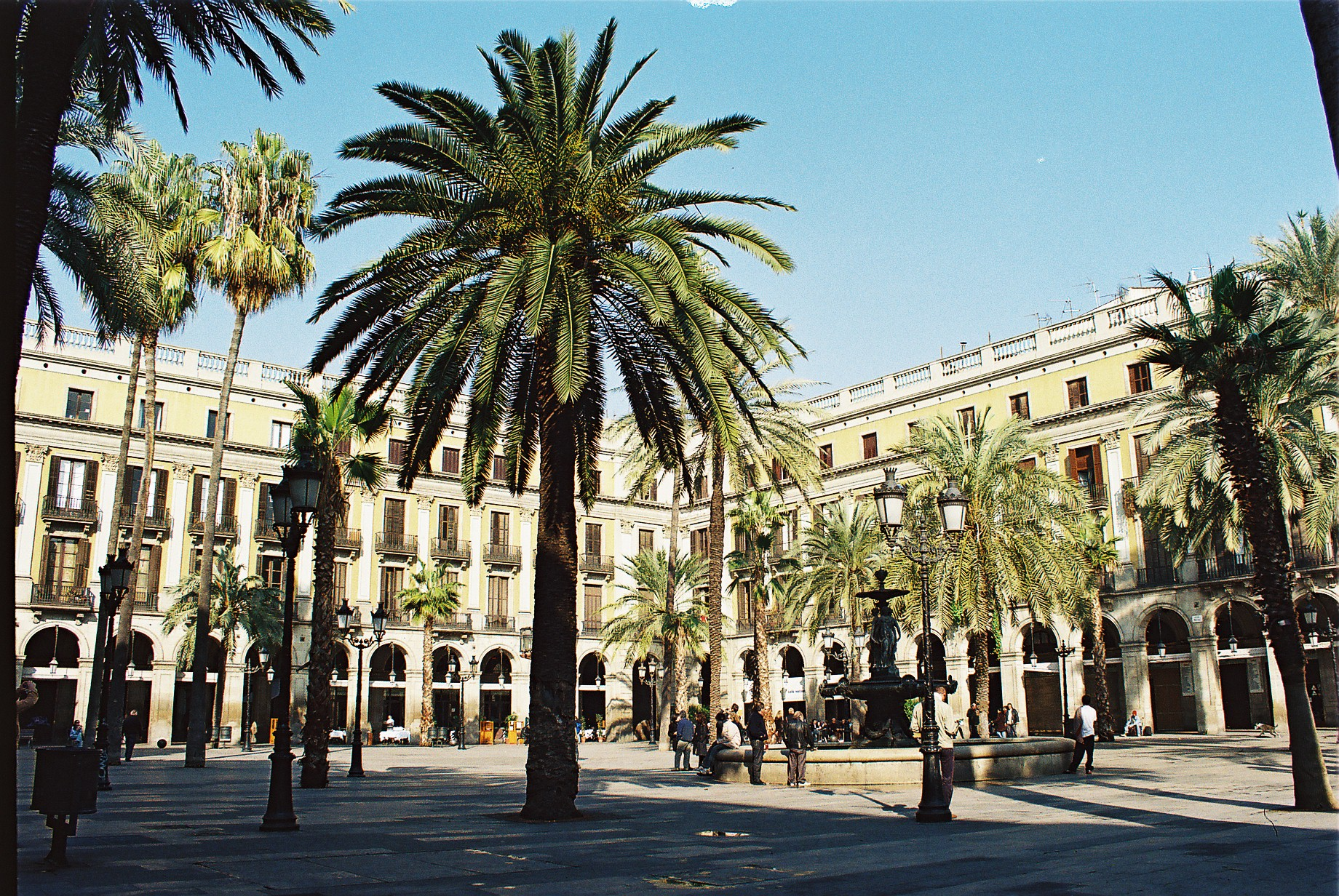 Placa Reial The Gothic Quarter Barcelona