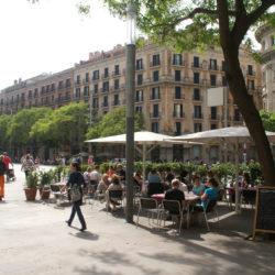 Plaza Espanya Daytime
