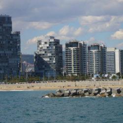 Diagonal Mar in Sant Martín, Barcelona