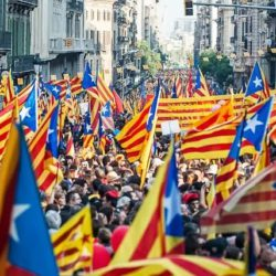 Spain Region Catalonia Independance Day
