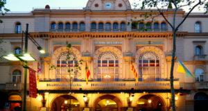 Teatre del Liceu Exterior view of the Opera House Barcelona