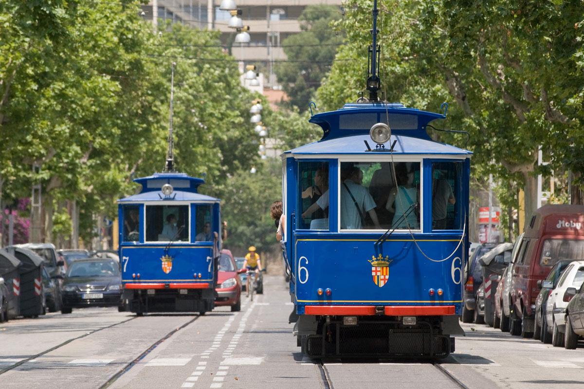 Die tramvia blau barcelona home blog for Blue barcelona