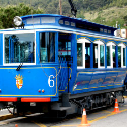 Tramvia Blau in Barcelona