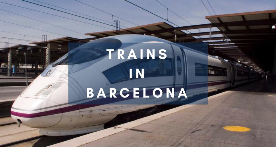 Trains In barcelona