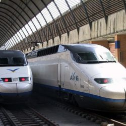 AVE Trains Barcelona