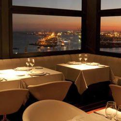 Beauitful restaurant view in Barcelona