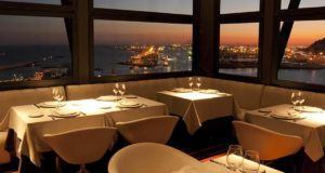 Beauitful restaurant view in Barcelona