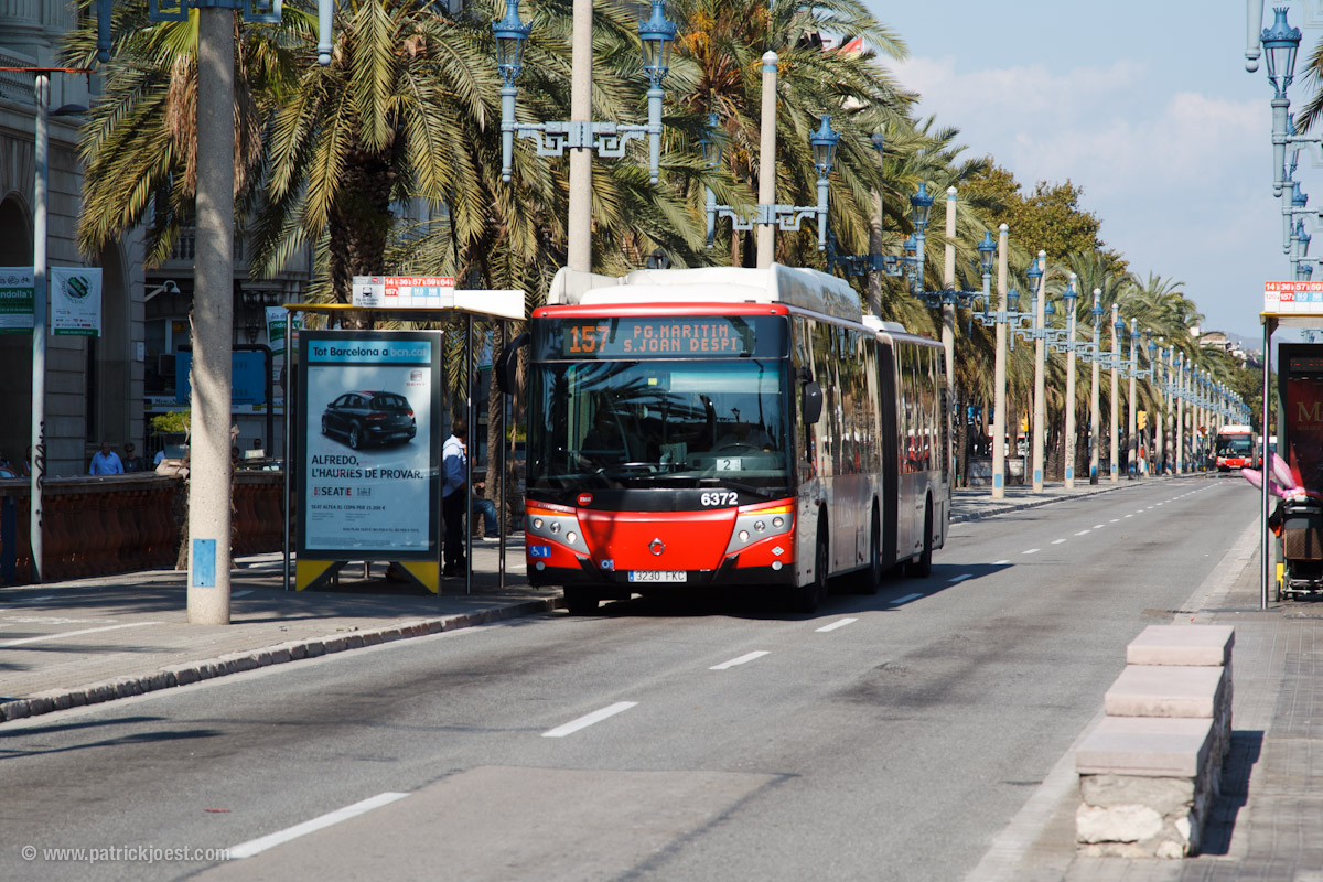 Using The Buses In Barcelona Barcelona Home