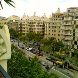 Правая часть района Эйшампле Барселона