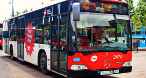 Using the Buses in Barcelona