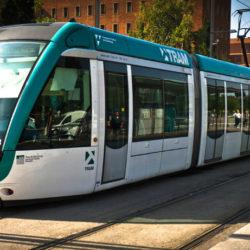 Le tram à Barcelone