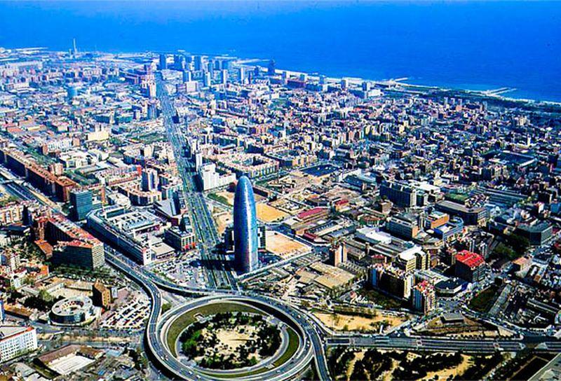 Poblenou in Sant Martí, Barcelona