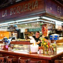 Grab some Tapas at El Quim La Bouqeria