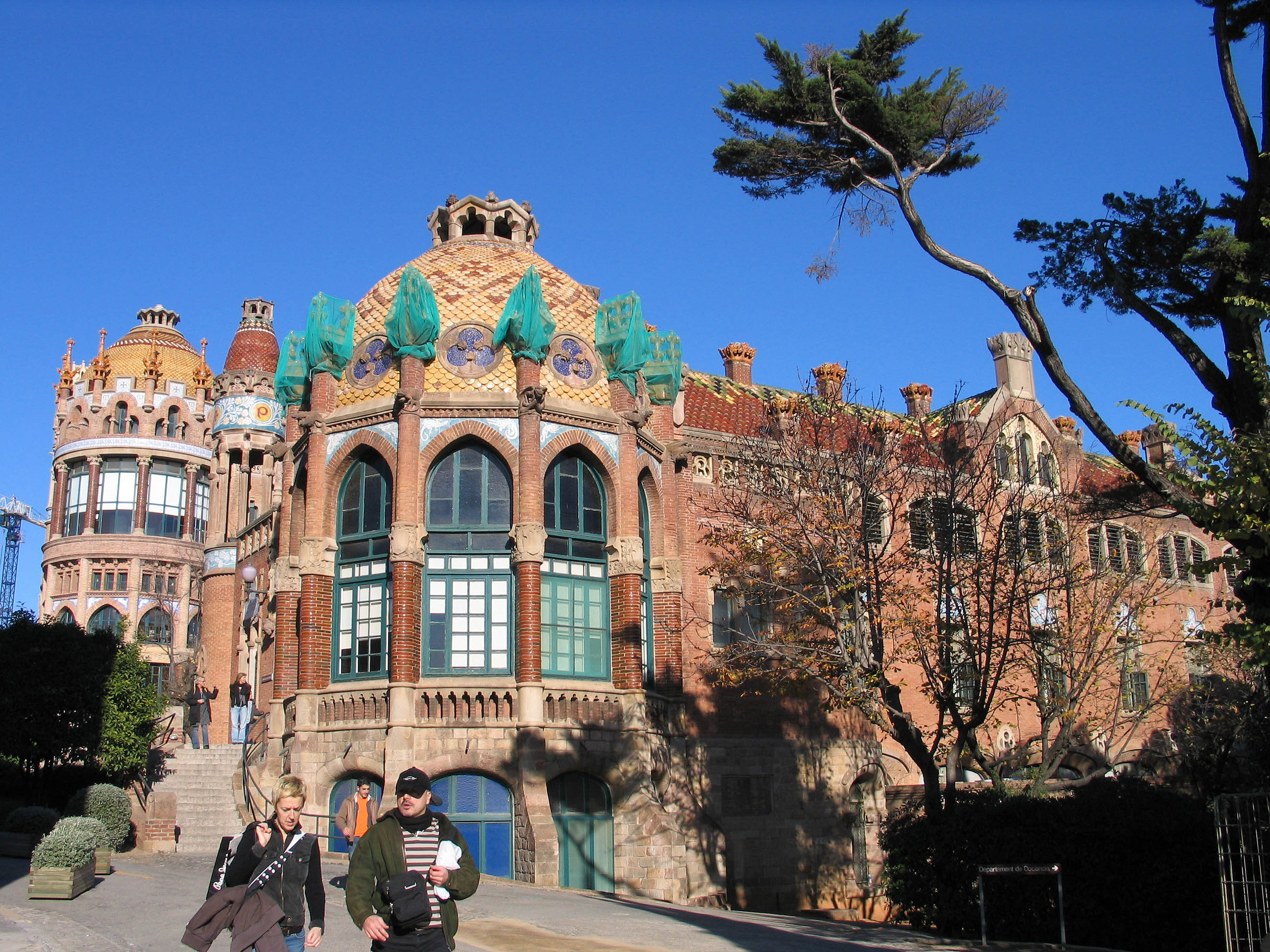 Hospital Sant Pau in Barcelona Spain