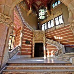 Inside Hospital de Sant Pau