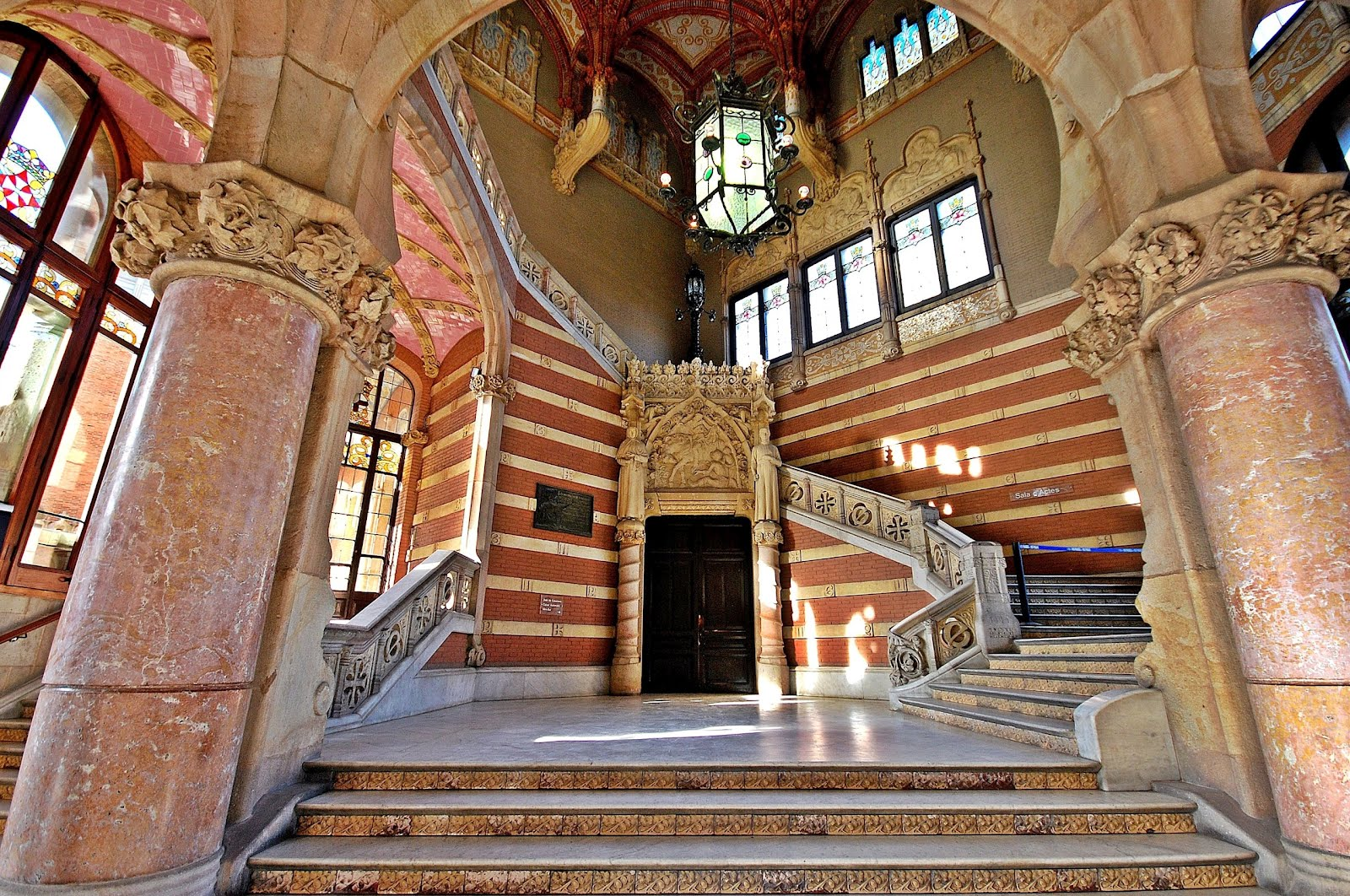 Hospital de sant pau barcelona home blog for Interior site
