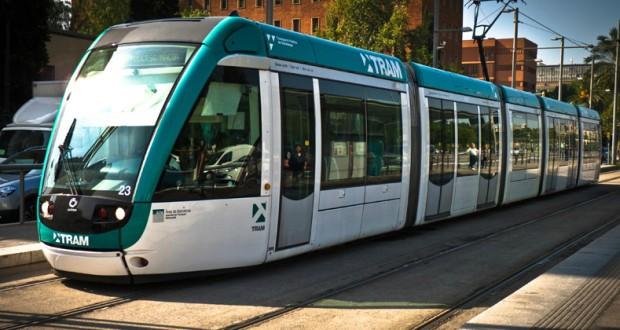 Trams in Barcelona