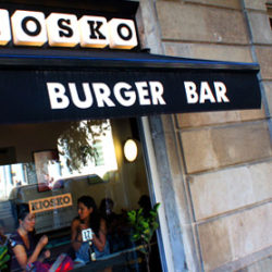 Kiosko Burger Bar Barcelona Spain