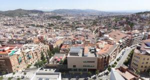 Lanscape view of Horta-Guinardó