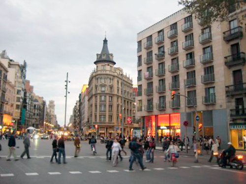 Neighbourhood Eixample Esquerra in Barcelona